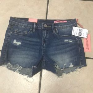 Girls' Denim Cut Off Shorts